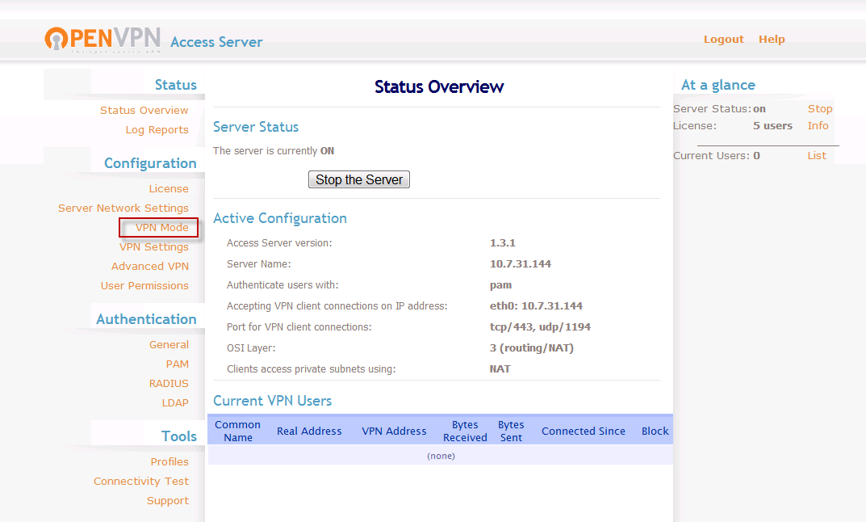 How to setup Layer 2 ethernet bridging | OpenVPN