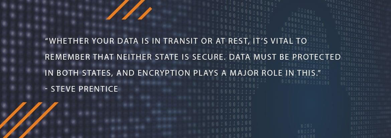 Data Encrytption security quote