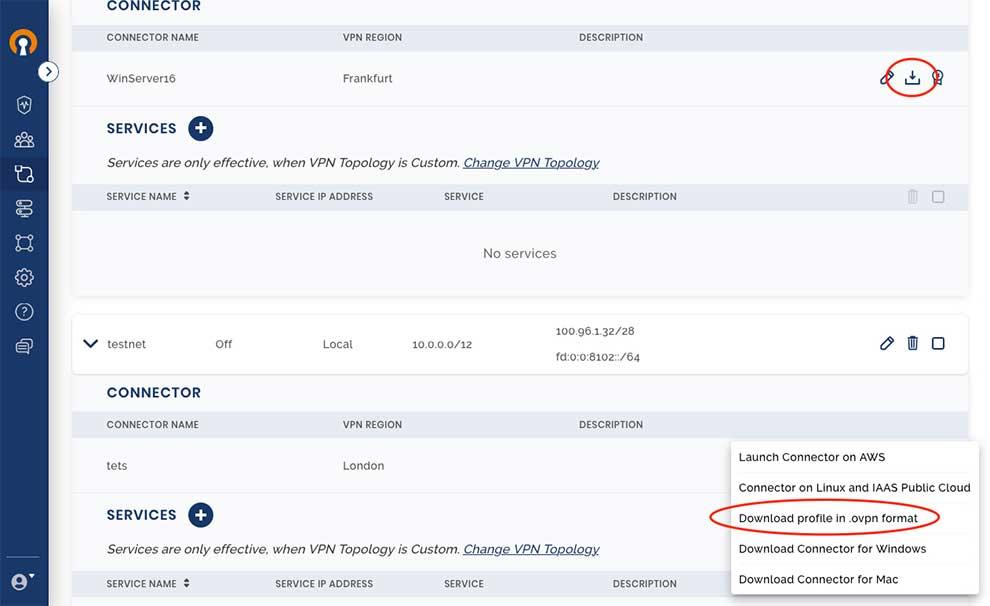 OpenVPN Cloud profile to configure OpenWrt