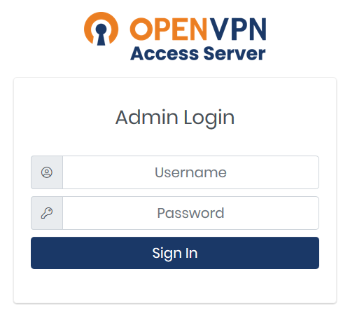 To install a commercial SSL certificate, you must first login to the Admin Web UI