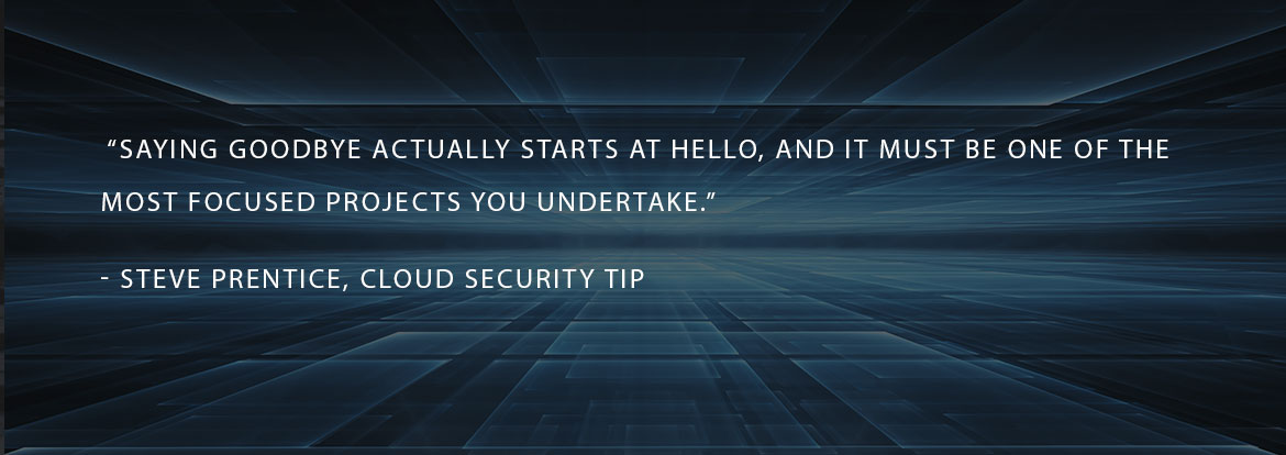 changing cloud providers security tip