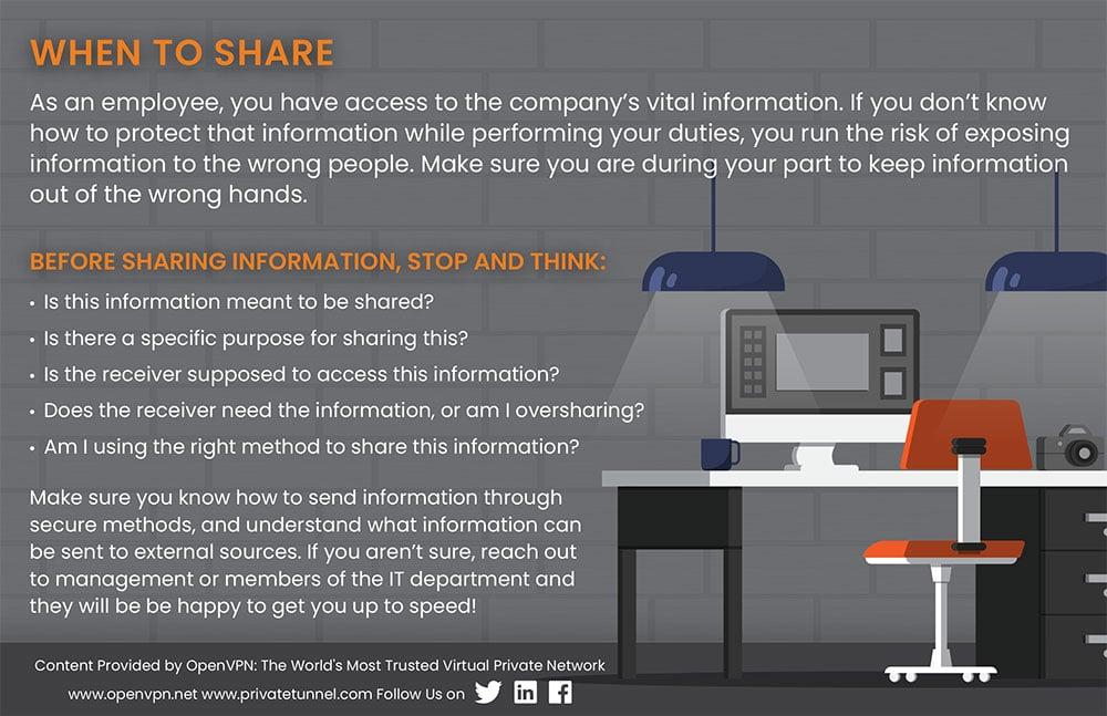 Tips on sharing data