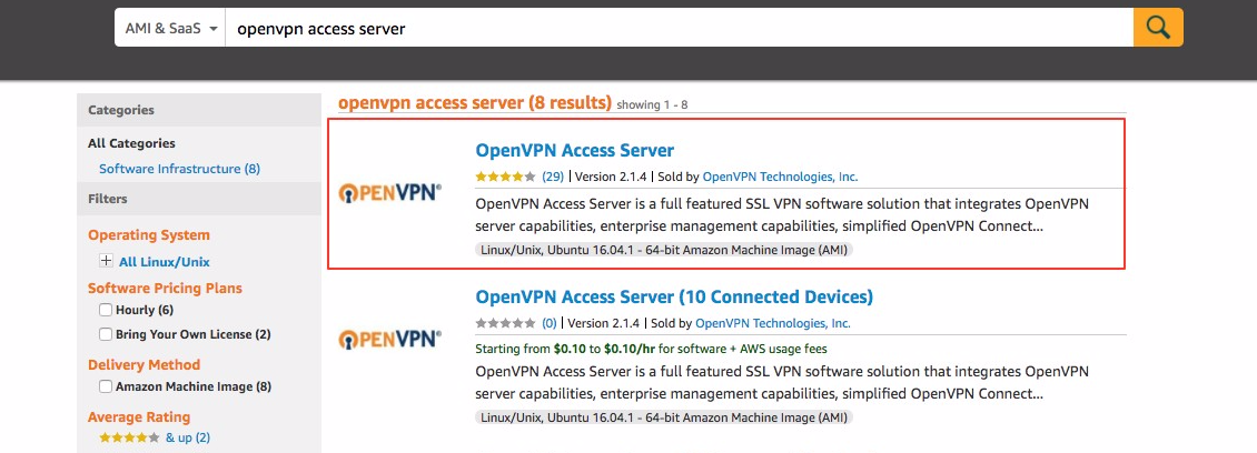 Amazon Web Services EC2 BYOL Appliance Quick Start Guide