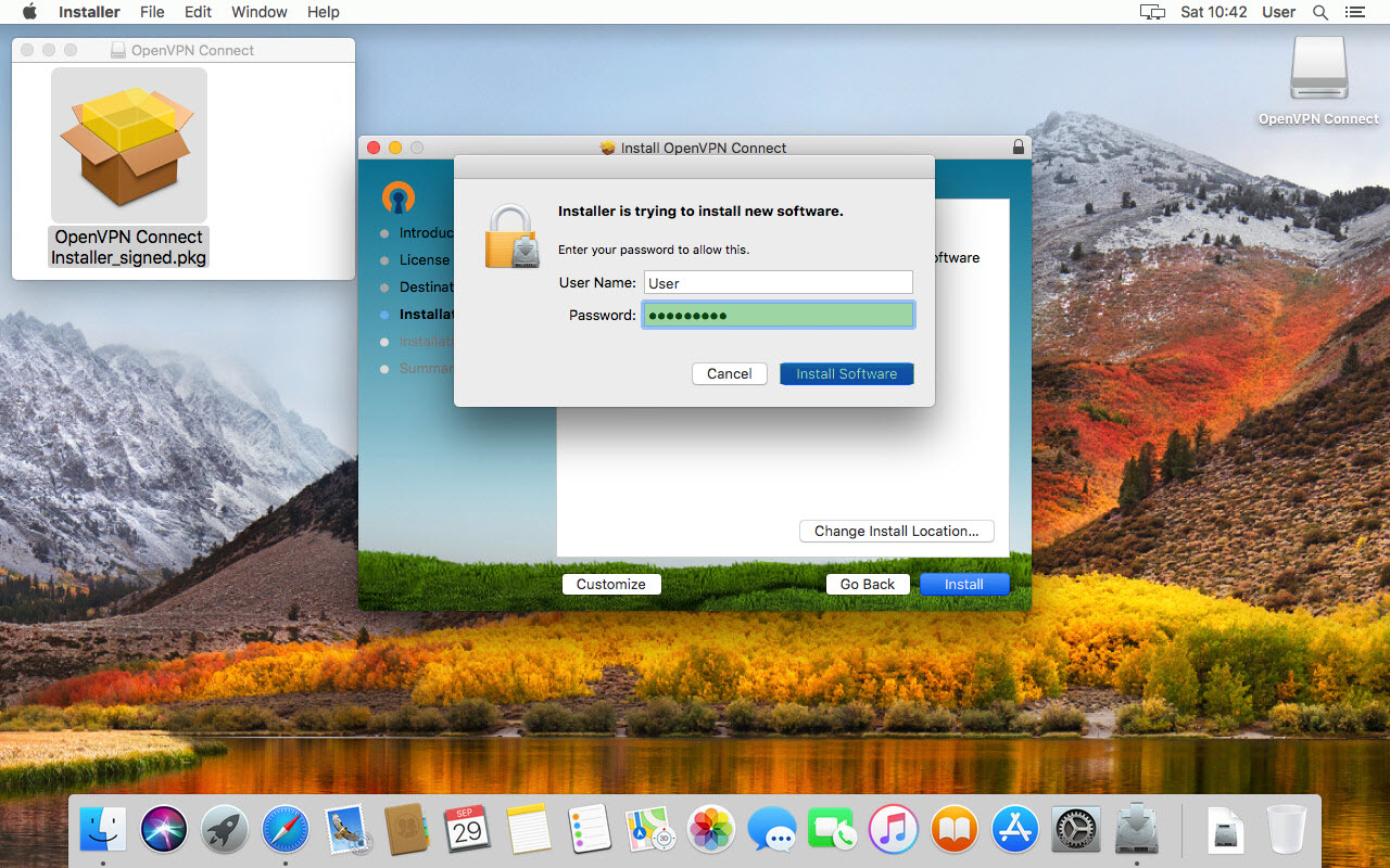 Installation Guide for OpenVPN Connect Client on macOS| OpenVPN