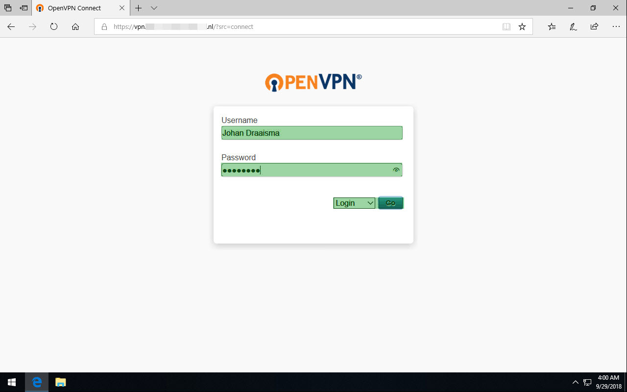 Installation guide for OpenVPN Connect Client on Windows | OpenVPN