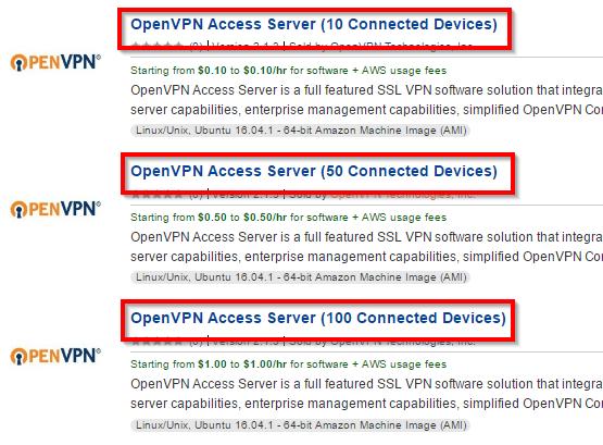 AWS EC2 Tiered Appliance Quick Start Guide | OpenVPN