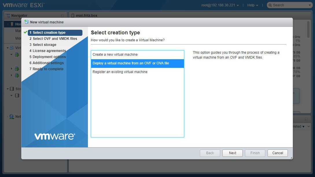 Deploying The Access Server VPN Appliance On VMWare ESXi